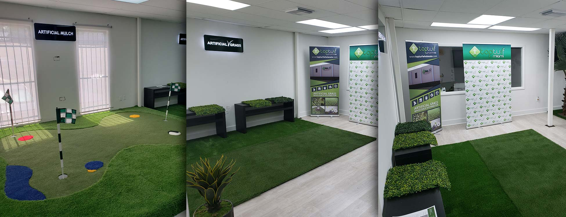 Banner Top Turf Miami